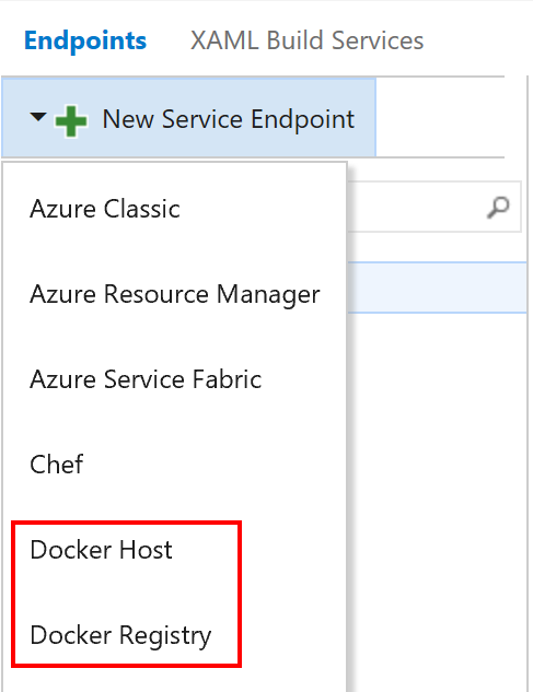 Docker VSTS Extension