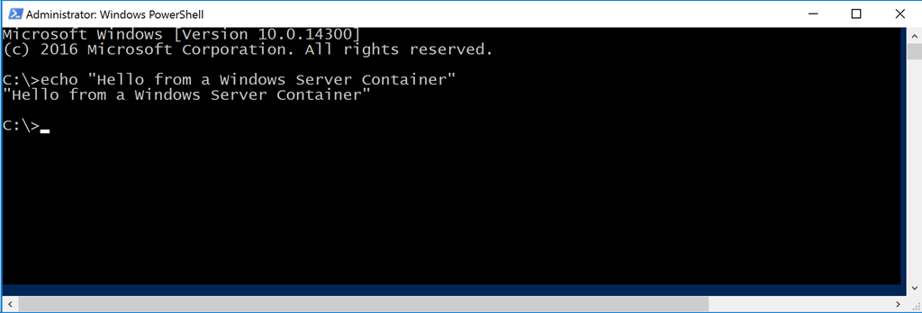 Docker Windows